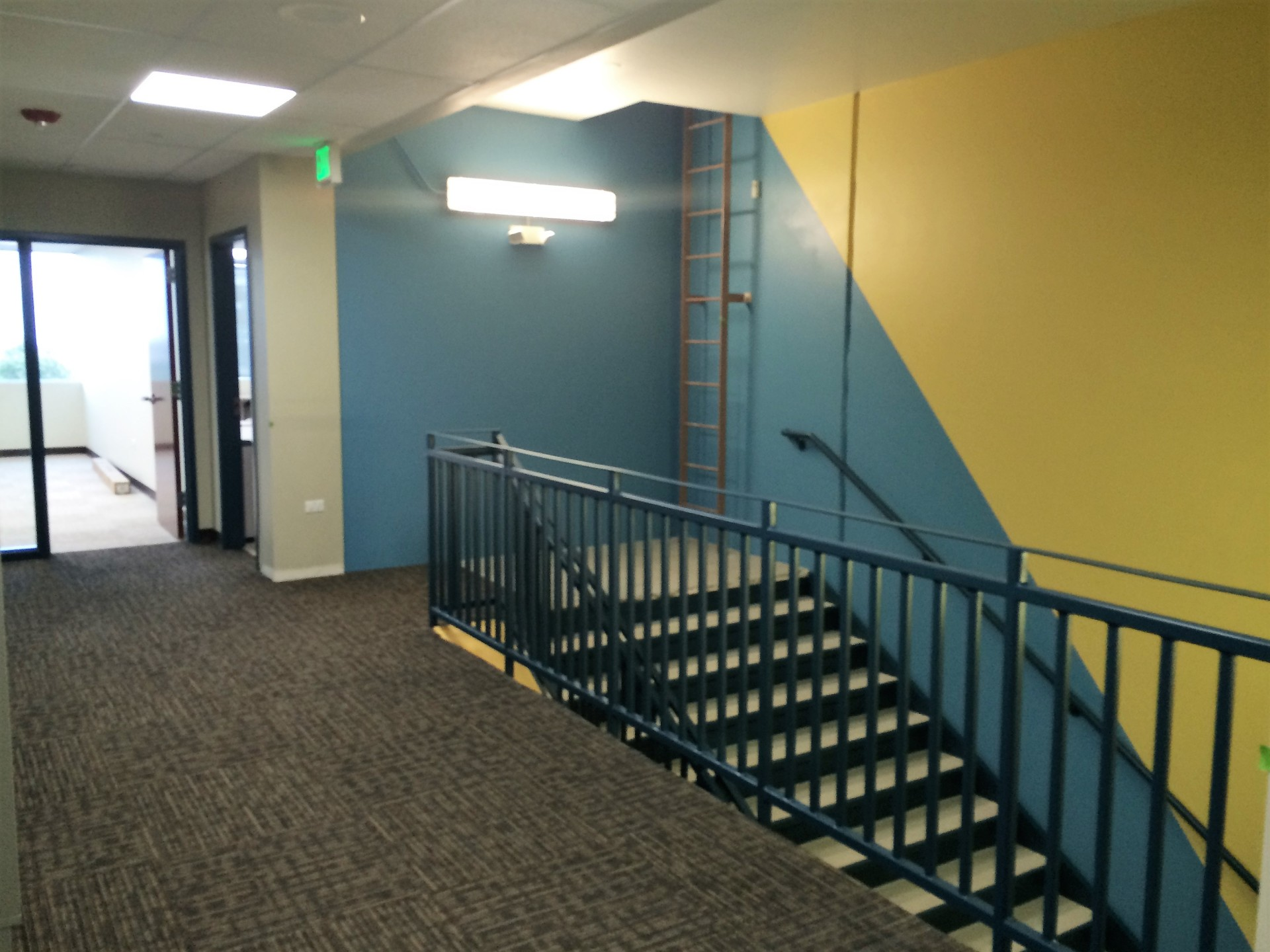 GVCA added accent stair
