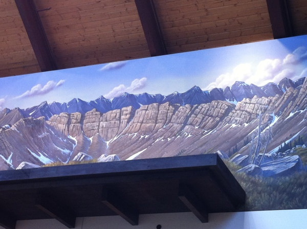 Cabela's Thornton, CO graphic mural