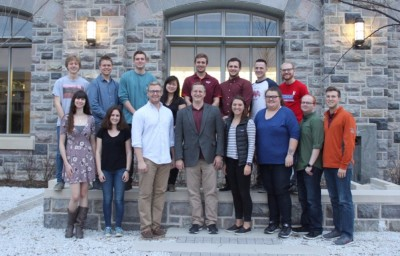 Spring 2017 Bortner Lab Research Group