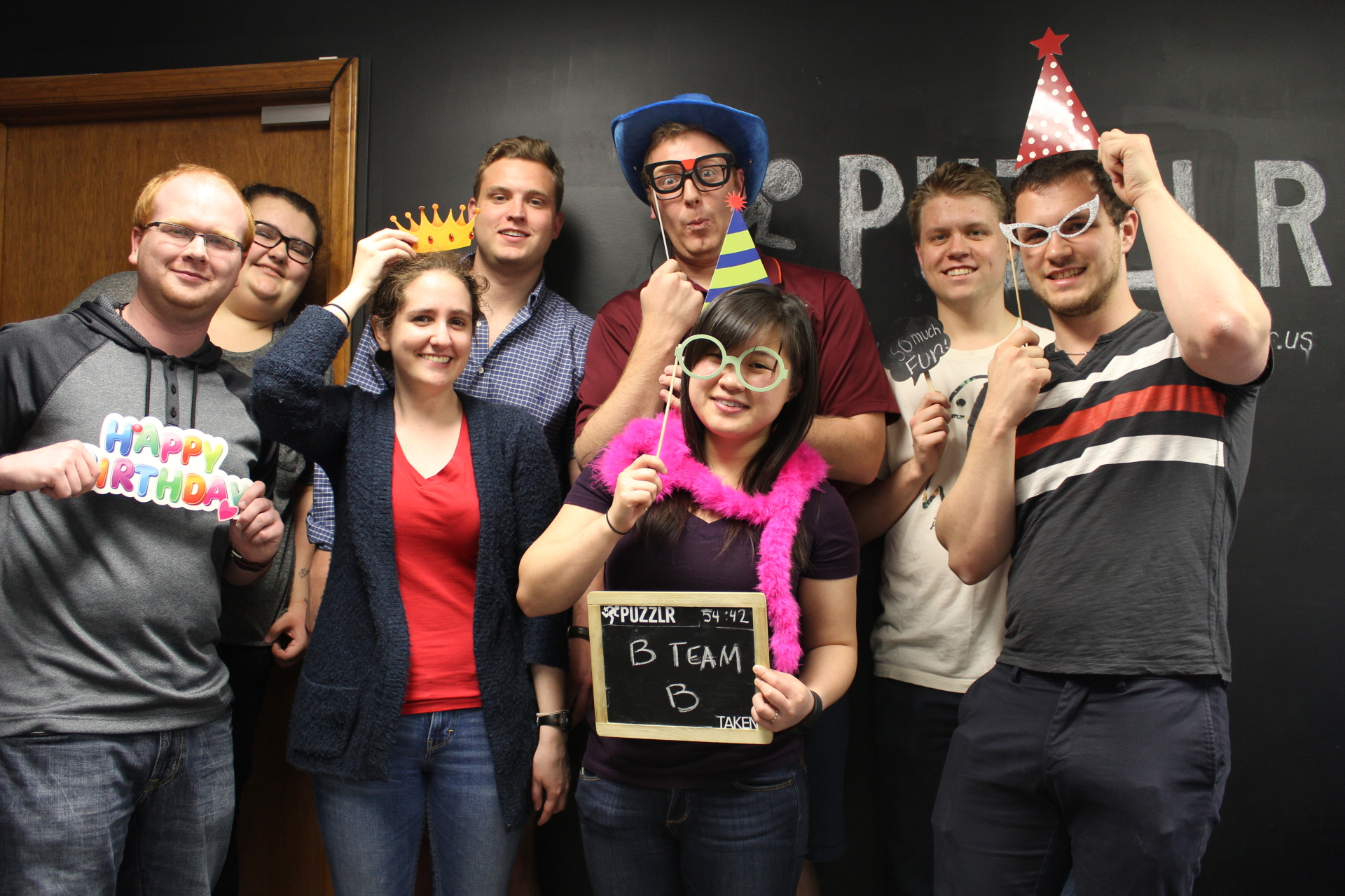 Puzzlr Escape Room - Spring 2017