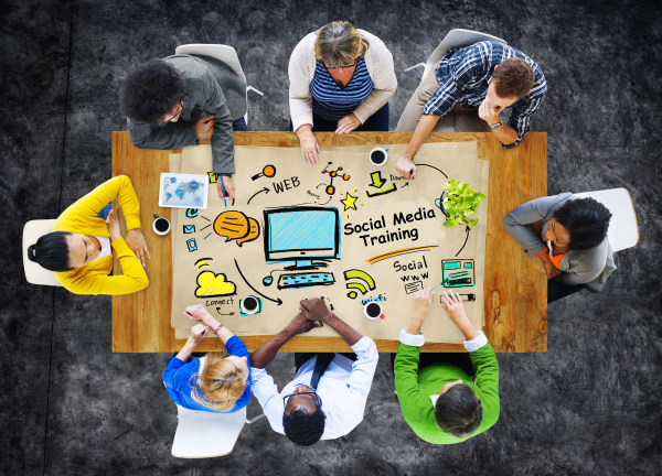Social Media & Business Training Training you and your staff to manage your own social media is highly recommended