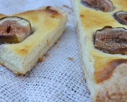 Fig Ricotta Tart