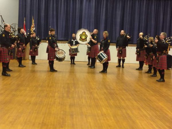 Royal Canadian Legion Branch 63 Pipes and Drums