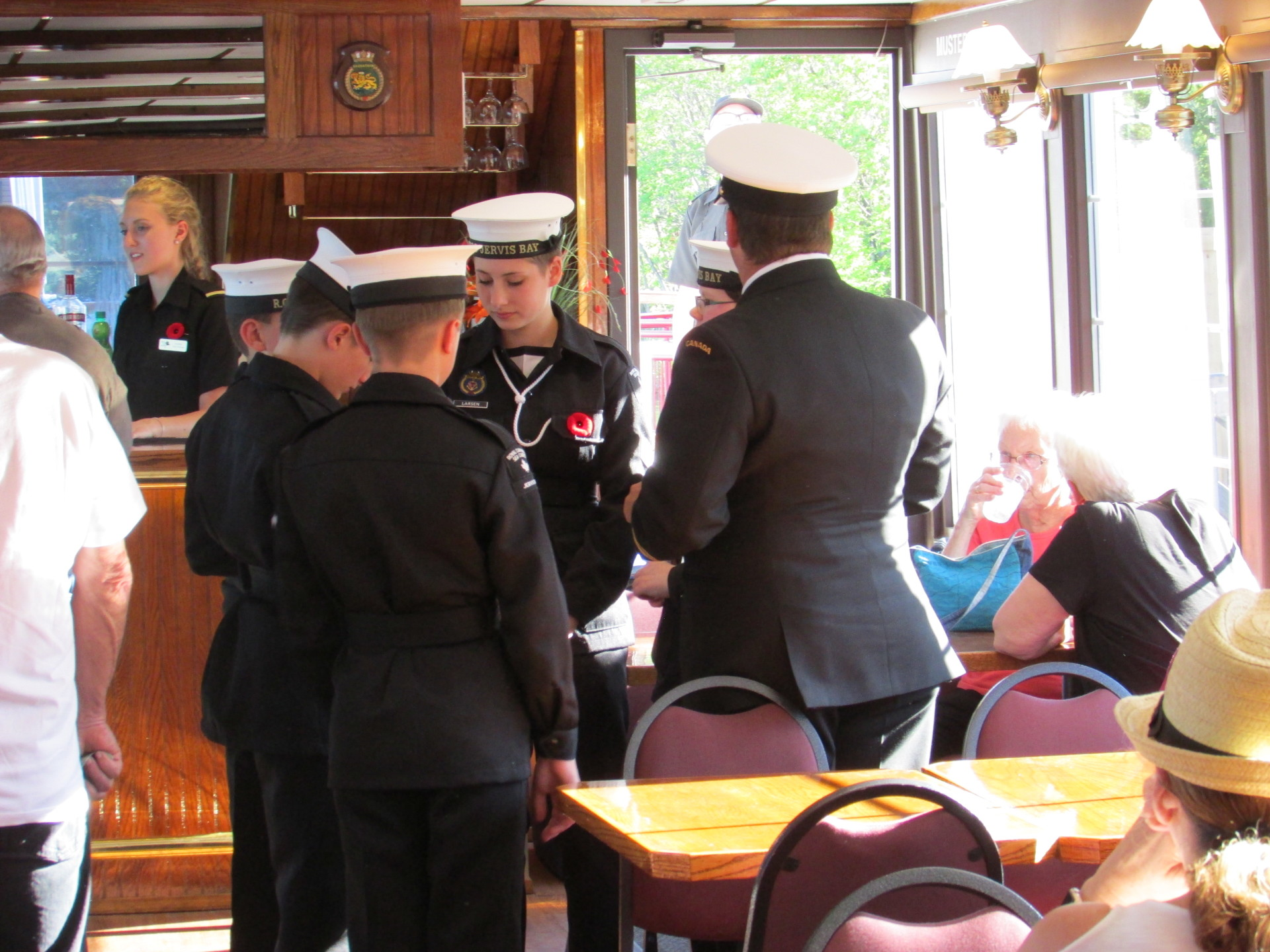 Jervis Bay Sea Cadets aboard the Legion Cruise