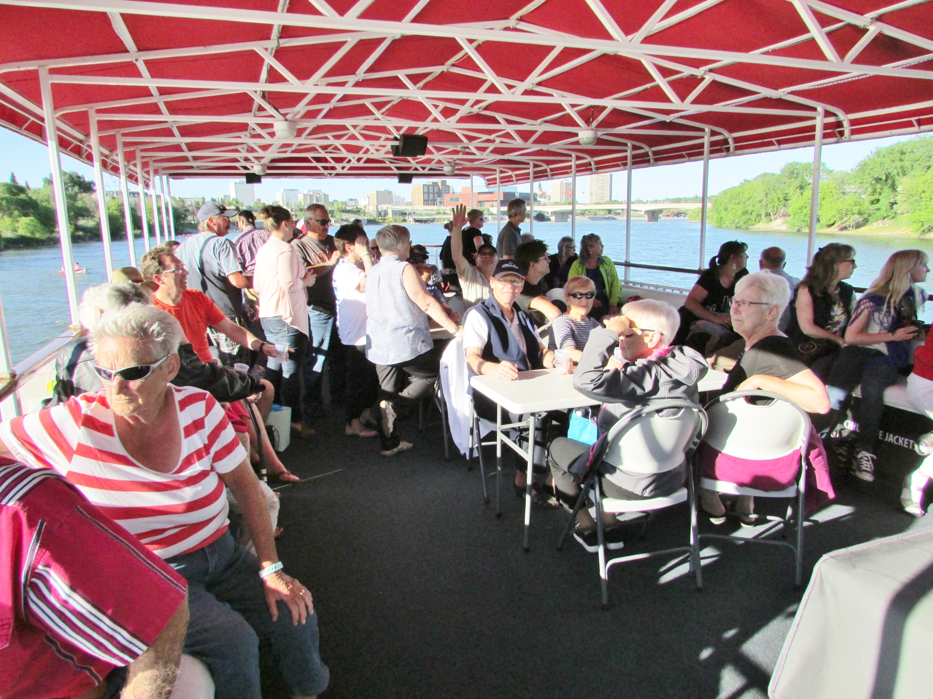 We had a great turn out aboard our Legion Cruise
