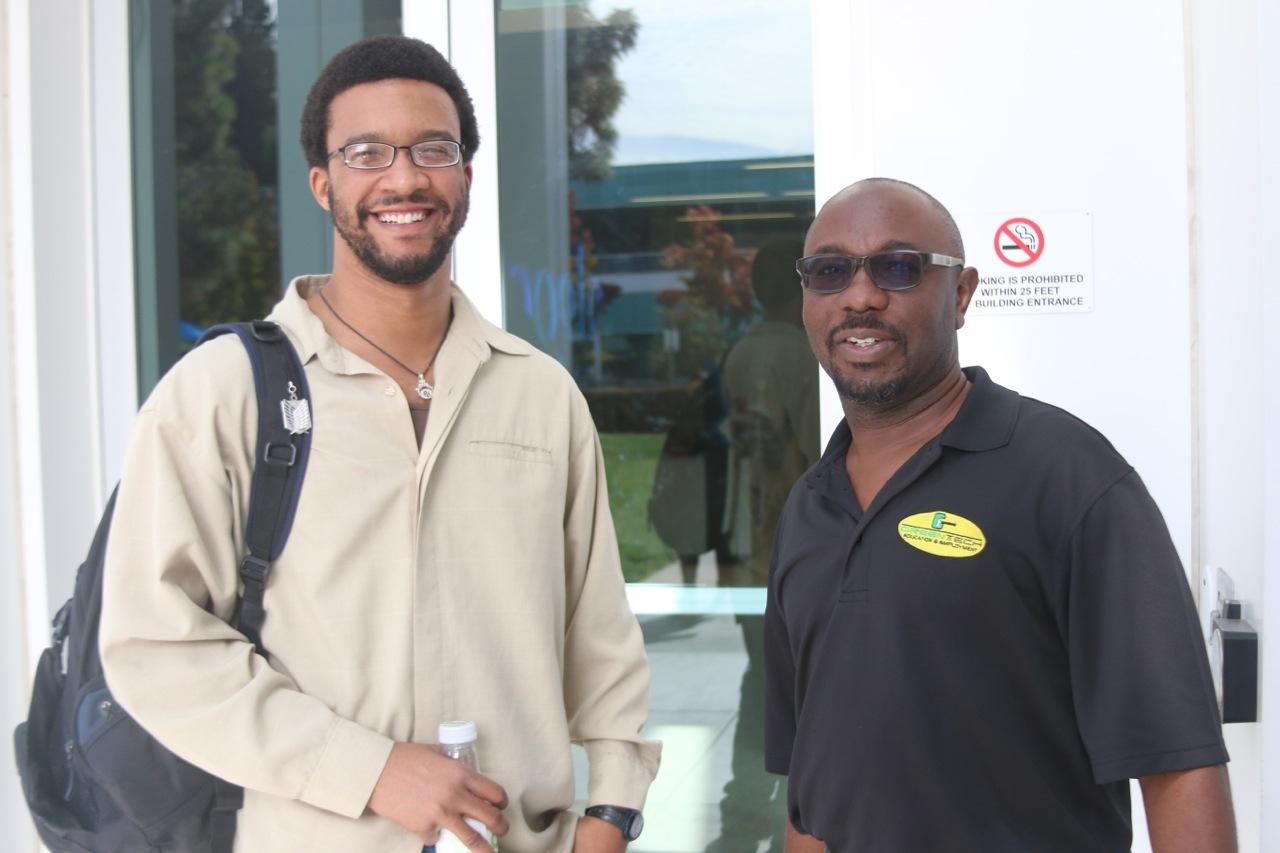 Alan and Simeon