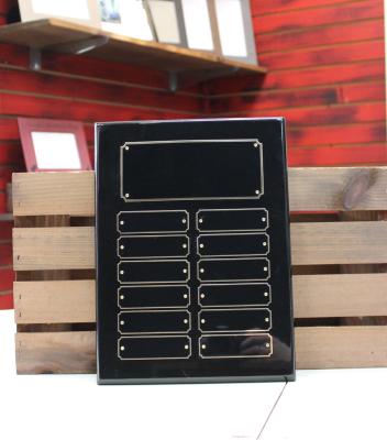"BPP12 - $105.00 Black Piano - 12""H x 9""W"