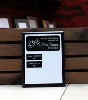 Starts at $47.50 7x9 plaque - 8 plates