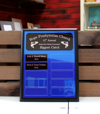 Starts at $55.00 8x10 plaque - 10 plates