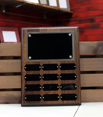 """WPP12 - $105.00 Solid Walnut - 12""""H x 9""""W"""