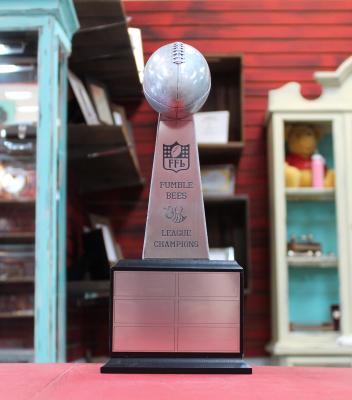 """Award8 - $135.00 13.75""""H x 5.625""""W x 5.625""""D"""