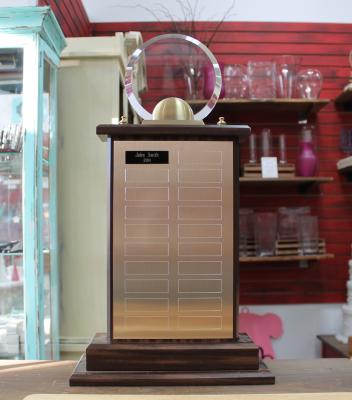 """Award6 - $145.00 21""""H x 11.625""""W x 5""""D"""