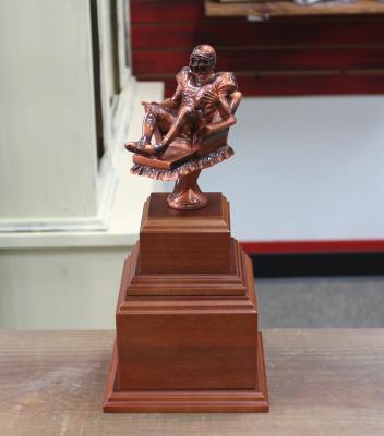 """Award2 - $95.00 12.75""""H x 6""""W x 6""""D"""