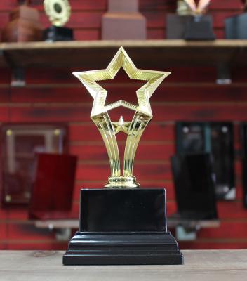 """Award12 - $25.00 8.5""""H x 4.25""""W x 4.25""""D"""