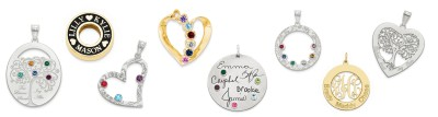 FAMILY PENDANTS & CHARMS