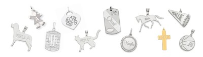 PERSONALIZED PENDANTS & CHARMS
