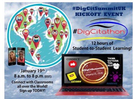 Pre DigCitSummitUK Event -- DigCitAthon