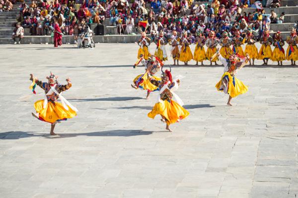 Tsechu Dancers