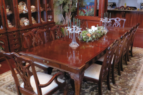 Stoneleigh Dining Table and Chairs (10)