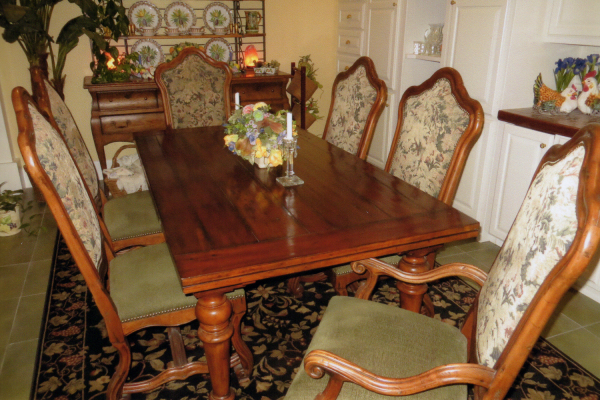 Hooker Refectory Table