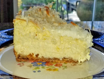 Coconut Cream Cheesecake recipe
