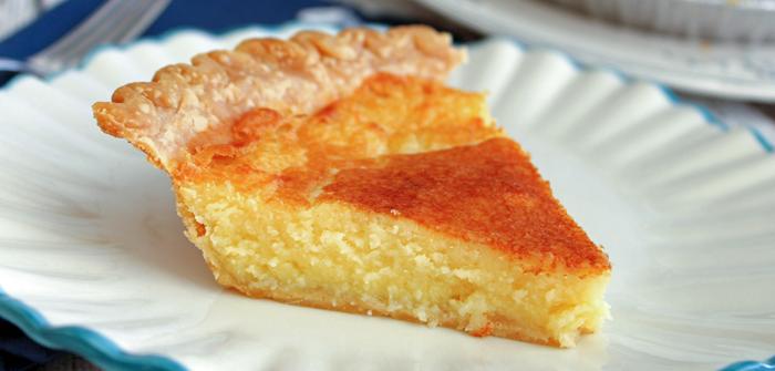 Granny's Buttermilk Pie, recipe