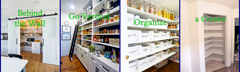 The Pantry - Space and Storage (September 2019 newsletter)