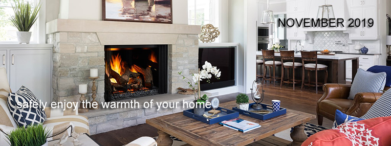 November 2019: safely enjoy the warmth of your home