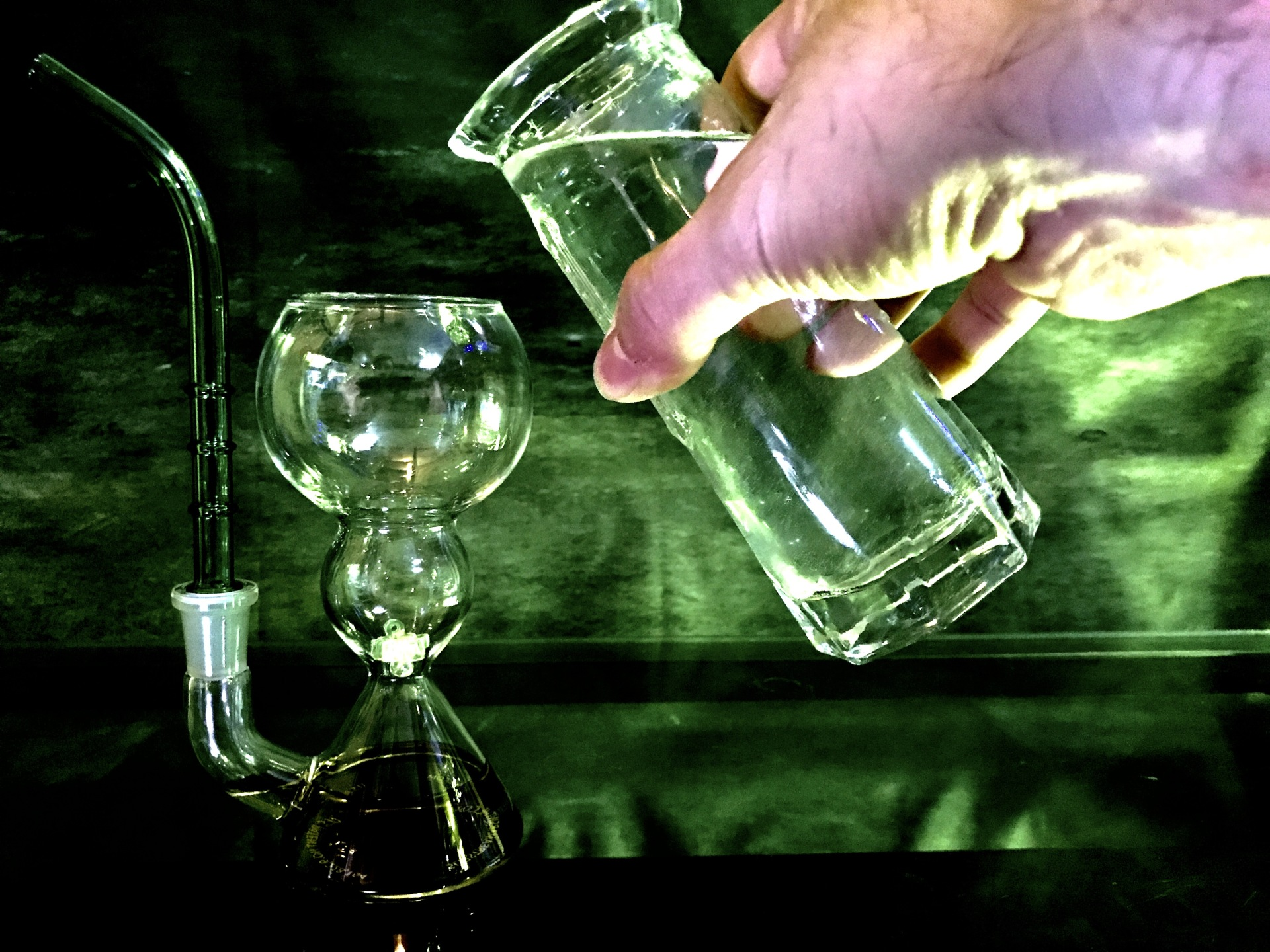 Modern method to prepare Absinthe