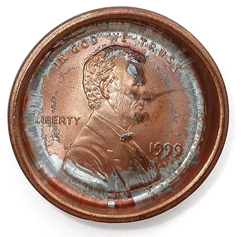 1999 Lincoln Penny Hub Error