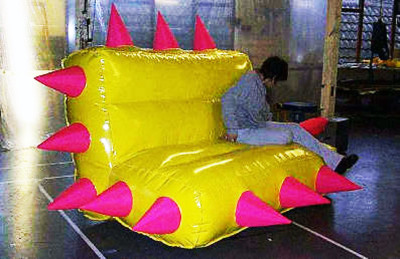 Spikey Couch