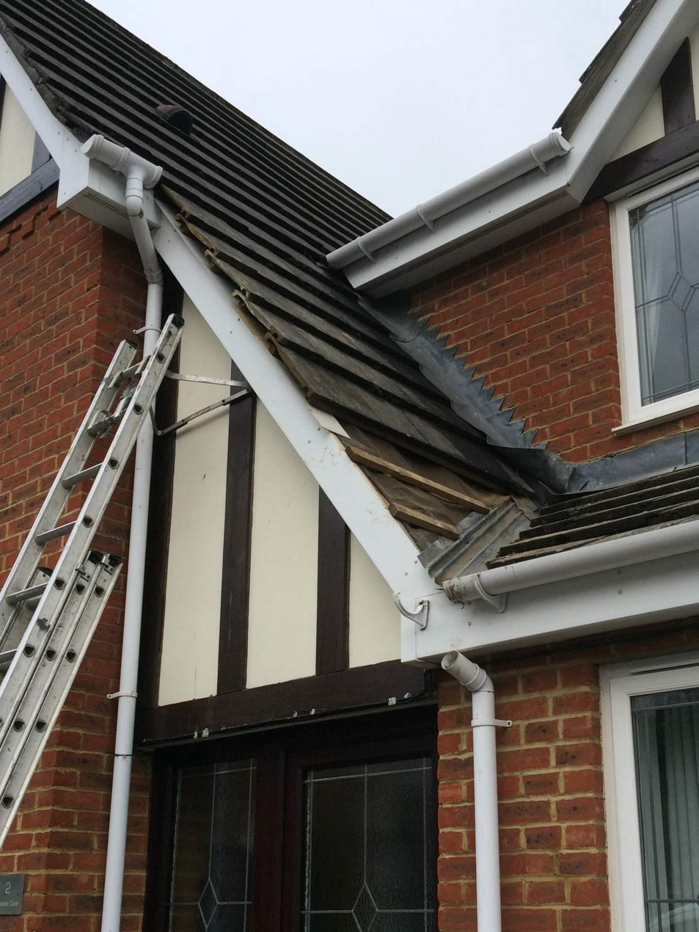 Roof verge repair
