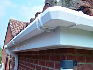White square guttering