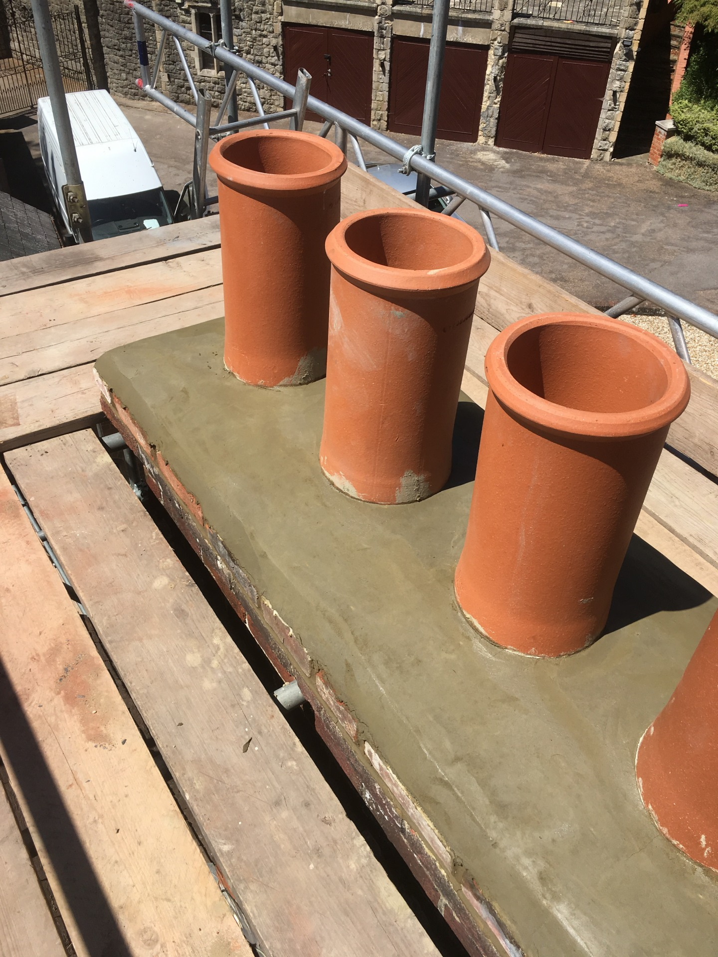 Chimney repoint & repair
