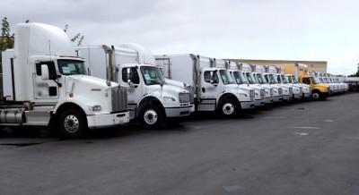 Managing class 8 trucks