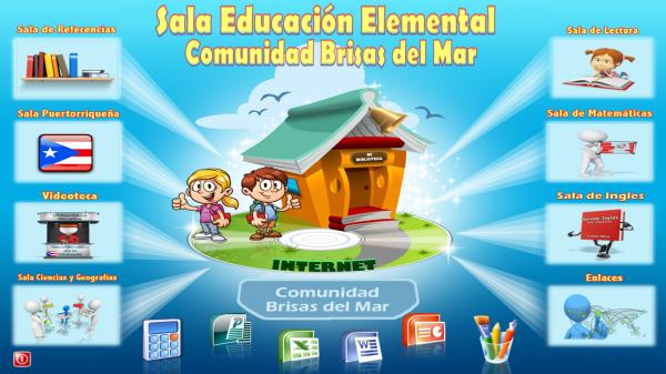 Sala Educativa Interactiva - Version Educativa Elemental