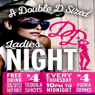 Ladies Night Billings MT at Daisy dukes Saloon and Dance Hall