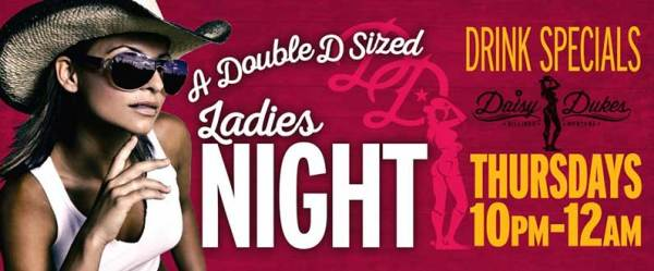Ladies night in Billings MT at Daisy Dukes Saloon and Dance Hall