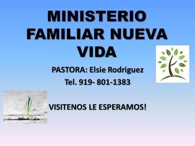 Iglesia Ministerio Familiar Nueva Vida