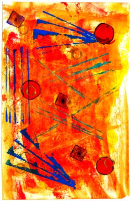orange-blues-acrylics