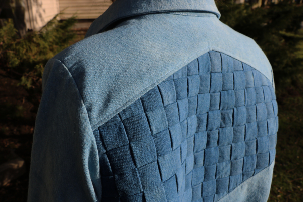 Cyanea Jacket Woven Back