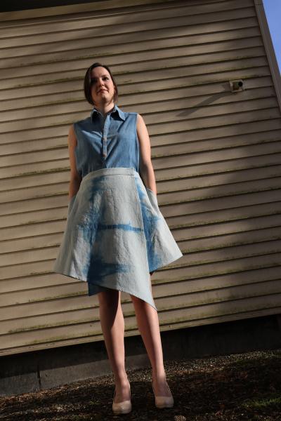 Nilma Wrap Skirt