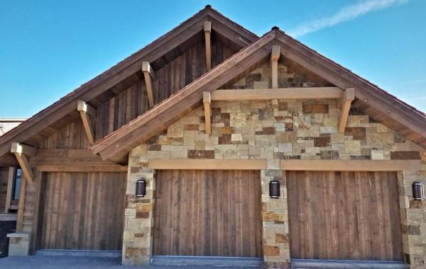 Reclaimed Barnwood Overhead Garage Doors