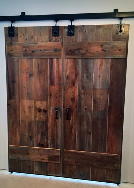 Reclaimed Barnwood Sliding Door