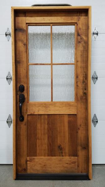 Reclaimed Hemlock Front Entry Door