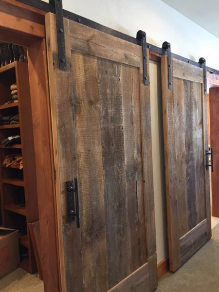Reclaimed Barnwood Sliding Doors