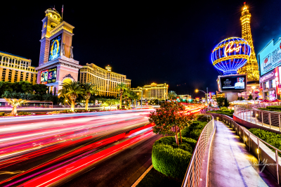 The City of Lights - Las Vegas, Nevada - 24x36  - $1150