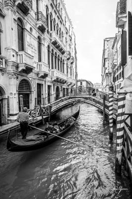 Love Flows - Venice, Italy - 24x36 - $1150