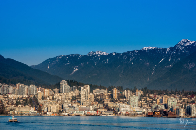 The Golden City - North Vancouver, BC - 24x36 - $1150