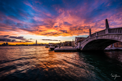 Nature's Fireworks - Venice, Italy - 32x48 - $2000